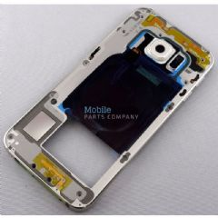 Genuine Samsung Galaxy S6 G920F Back Chassis With Loudspeaker and Side Keys White - Part No: GH96-08583B